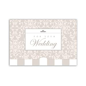 Jillson Roberts Gift Card Holders, Bridal Brocade, 6-Count (GCP040)