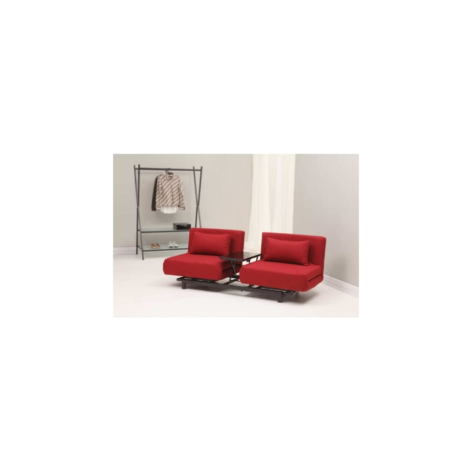 Swell Zuo Modern Swing Lounge Sofa Bed Red On Popscreen Ibusinesslaw Wood Chair Design Ideas Ibusinesslaworg