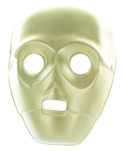 [Star Wars C-3PO 3/4 Adult PVC Mask Costume Accessory] (C3po Mask)