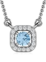 Art Of Diamond Collar Aquamarine White Gold