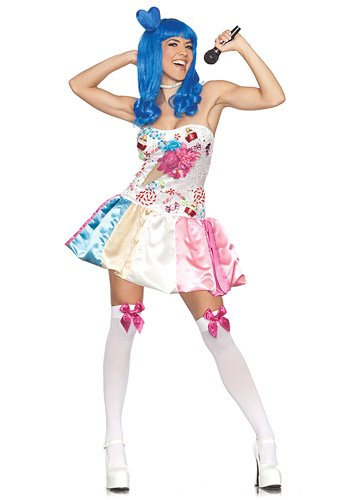 Sweet Candy Katy California Girl Costume Adult Extra Large (X-Large)