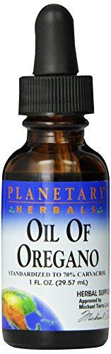 Planetary Herbals Oil Of Oregano, 1 Fl Oz (29.57 Ml)