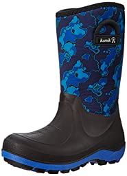 Kamik Bluster 2 Rocky Snow Boot (Little Kid/Big Kid), Navy, 2 M US Little Kid