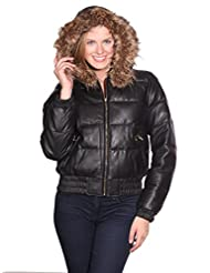 Sean John Clothing For Women Sean John Puffered Leather