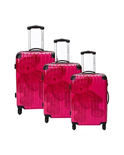 MURANO Set de 3 trolleys rígidos Ensemble 0 cm