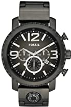 Fossil Gage Plated Stainless Steel Watch - Smoke Jr1252