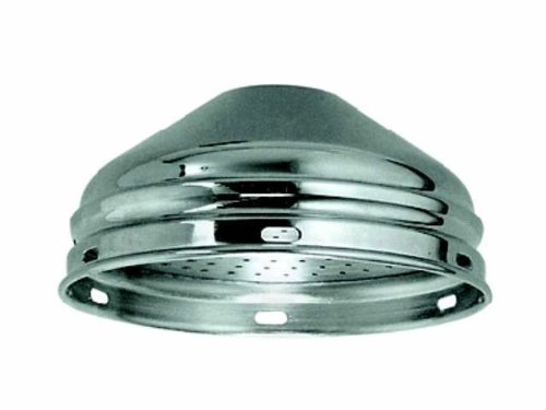 Kopfbrause Relexa DN 15, Brausekopf ø 85 mm, Niederdruck für offene Warmwasserbereiter, 28404000
