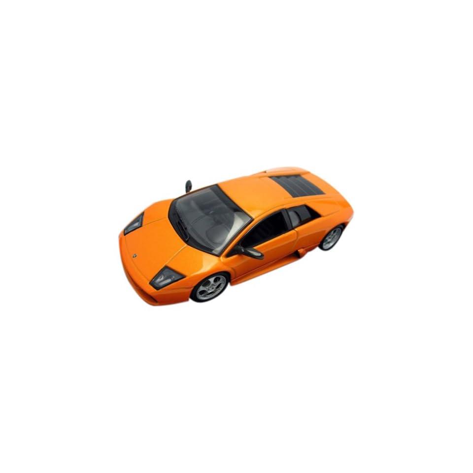 Lamborghini Murcielago Orange 1/43 Diecast Model Car Autoart