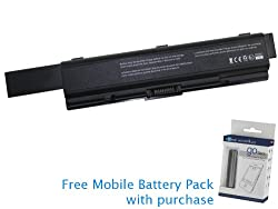 Toshiba Satellite L300 Battery 95Wh 8800mAh with free Mobile Battery Pack