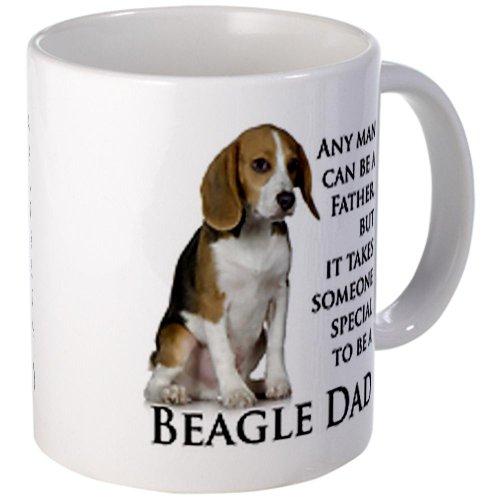 Cafepress Beagle Dad Mug - Standard Multi-Color
