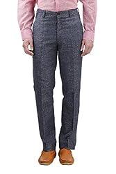 Gazi Men's Khadi Trouser (GFTR03_30, Khadi, 30)