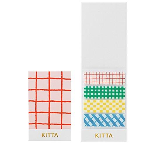 キングジム ちいさく持てるマスキングテープ KITTA(キッタ) チェック KIT004
