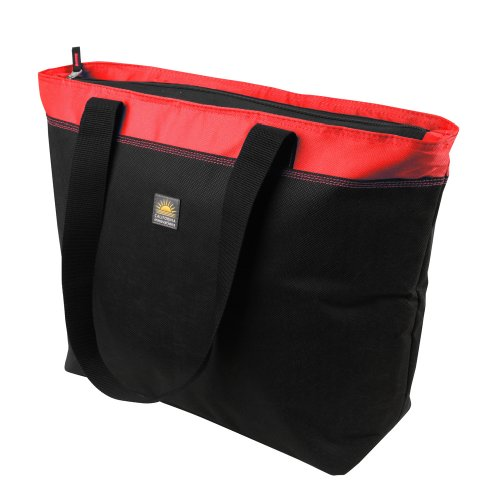 California Innovations 45 Can Eco Blend Thermal Tote, Red