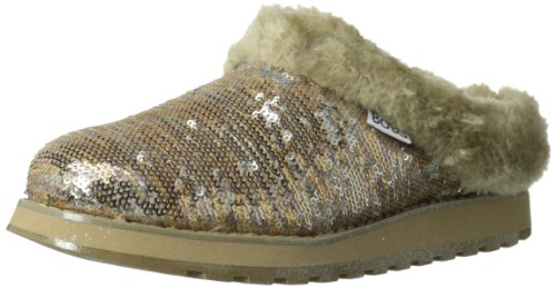 Skechers Womens Keepsakes Shivers Low Gold Gold (GLD) Size: 38