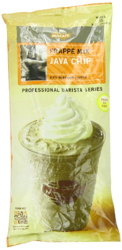 MOCAFE Frappe Java Chip, Ice Blended Coffee, 3-Pound Bag