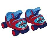 D ARPEJE Spider-Man - Adjustable roller skates - OSPI001 + Spiderman Pop-up tent