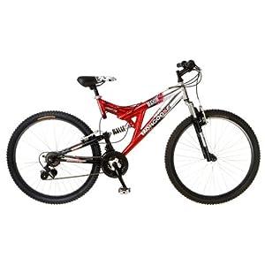 Mongoose Maxim Dual-Suspension Mountain Bike (26-Inch Wheels