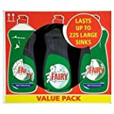 Fairy Liquid Original Professional From P&G (6 x Large 750ml)