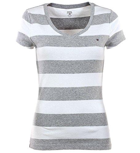 tommy-hilfiger-damen-v-neck-shirt-t-shirt-marine-grau-grosse-xl