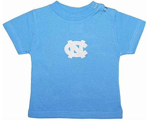 North Carolina Tar Heels Baby Blue NCAA College Toddler Baby T-Shirt Tee