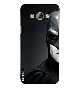 Omnam Batman In Black And White Printed Designer Back Cover Case For Samsung Galaxy A8
