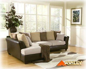 Fabulous Logan Stone Sectional By Ashley Furniture