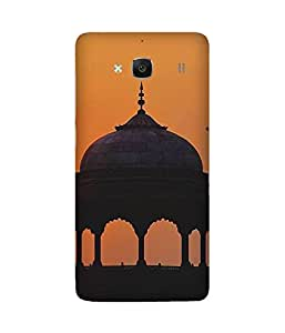Sunset Fort Xiaomi Redmi 2S Case