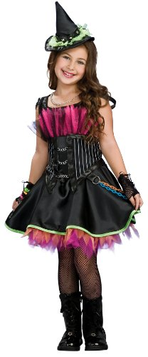 Rockin' Out Witch Halloween Costume - Child Size Large