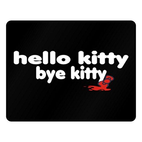 Teeburon Hello Kitty bye kitty Horizontal Sign