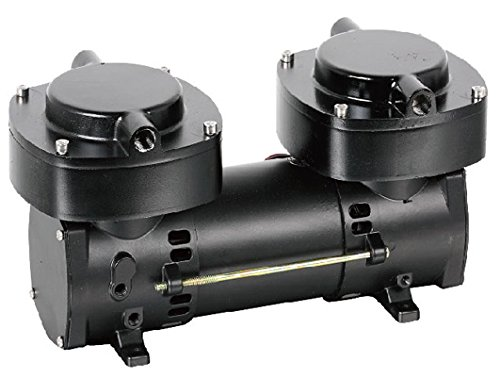Generic Small Diaphragm Vacuum Pump 2Stage 136L Per Min 6.5Amps
