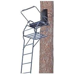 Buy Guide Gear Jumbo 18' Ladder Tree Stand by Guide Gear