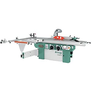Grizzly g0451 10 hp sliding table saw power table saws for 10 sliding table saw