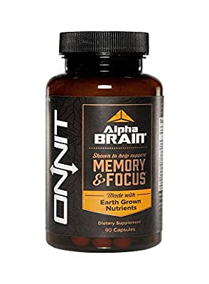 Alpha BRAIN® (90ct) The Flagship Memory & Focus by Onnit Labs