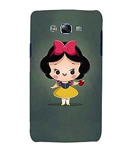 printtech Snow White Cute Girl Cartoon Back Case Cover for Samsung Galaxy Grand Prime G530h