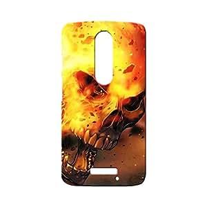 BLUEDIO Designer Printed Back case cover for Motorola Moto X3 (3rd Generation) - G0785