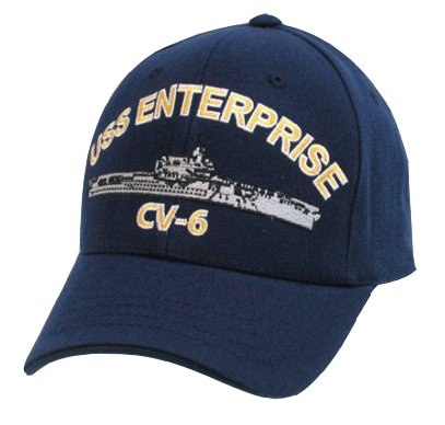 USS Enterprise Cap