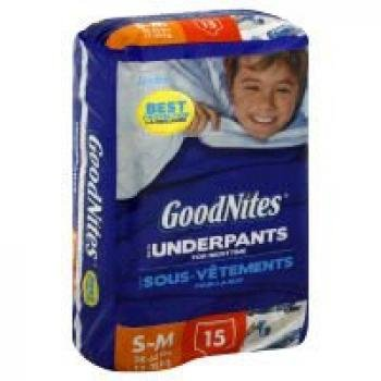Goodnites Underpants Boy - 4 Pack