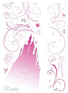 Roommates Rmk2168Gm Disney Princess Scroll Castle Peel And Stick Giant Wall Decals, 1-Pack by RoomMates