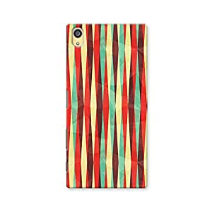 ArtzFolio Vintage Rhombus : Sony Xperia Z5 Matte Polycarbonate ORIGINAL BRANDED Mobile Cell Phone Protective BACK CASE COVER Protector : BEST DESIGNER Hard Shockproof Scratch-Proof Accessories