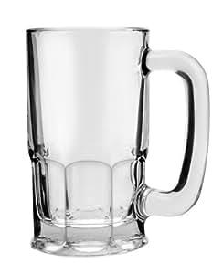 Anchor Hocking Set of 6 Beer Wagon Mug Set, 20-Ounce