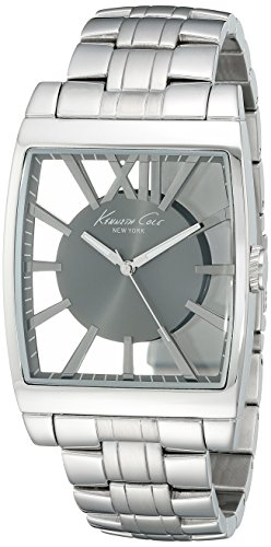 Kenneth Cole New York Transparent Stainless Steel Men's watch #KC9345