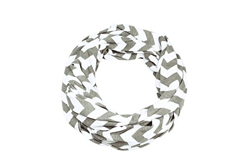 Itzy Ritzy Nursing Happens Infinity Breastfeeding Scarf, Chevron