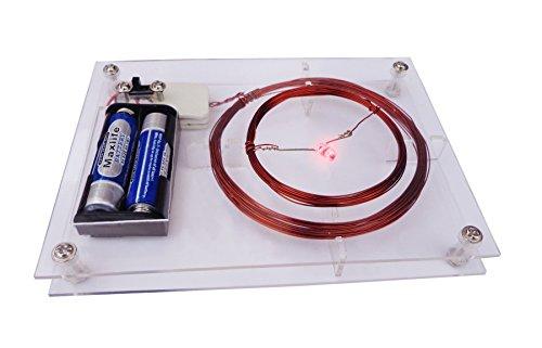 Wireless power pad II Wireless power transfer project kit II Educational kit II Wireless LED light