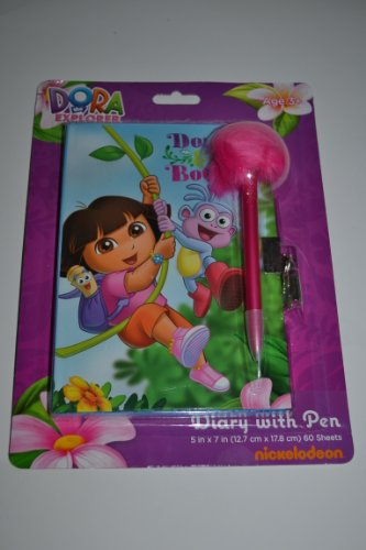 Dora the Explorer Diary with Pen
