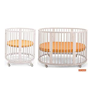 stokke sleepi mini crib system i w mattresses and drapery rod baby. Black Bedroom Furniture Sets. Home Design Ideas