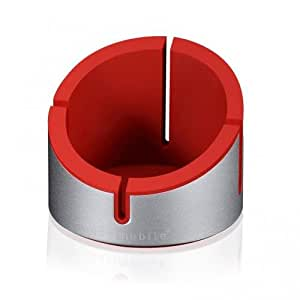 Just Mobile AluCup Deluxe Desktop Stand (Red)