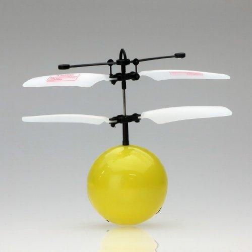 赤外線ヘリ FlyngBall フライングボール (イエロー)