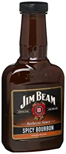 Jim Beam Spicy Bourbon Barbecue Sauce 18-ounce Bottles Pack Of 6 from Jim Beam