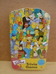 The Simpsons Trivia Game in Collector's Tin - 1