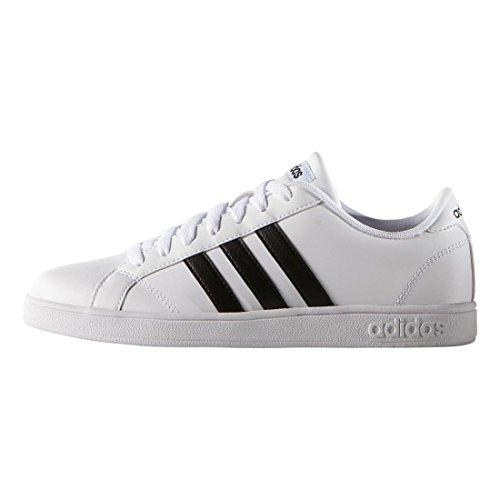 Adidas NEO Women's Baseline W Casual Sneaker,White/Black/White,9 M US